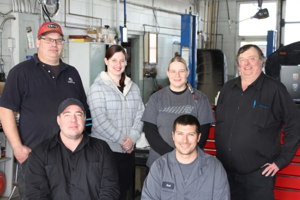 photo of the Market Mall Auto Repair team